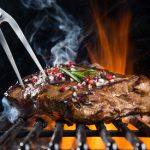 Lecker gegrilltes Steak