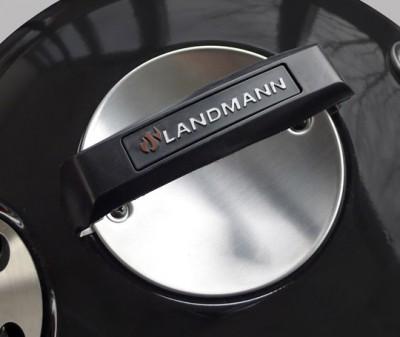 Landmann Black Pearl Holzkohle Kugelgrill Deckel