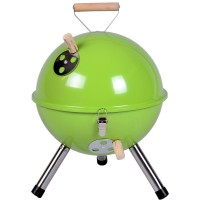 Mini BBQ-Grill Holzkohle Kugelgrill