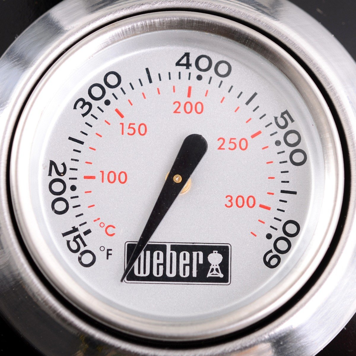 Weber One-Touch Premium Holzkohle Kugelgrill 67cm Thermometer